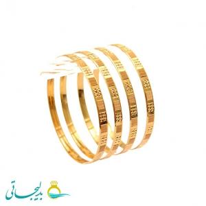النگو طلایی زنانه- کد 6369