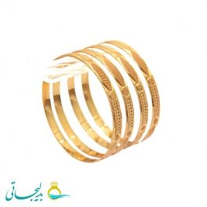 النگو طلایی زنانه- کد 6370