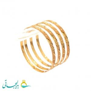 النگو طلایی زنانه- کد 6371