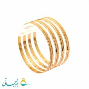 النگو طلایی زنانه- کد 6372