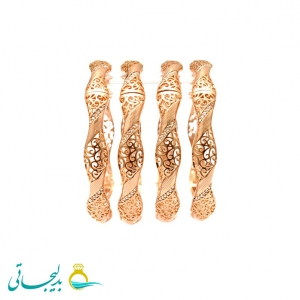 النگو طلایی زنانه- کد 6373