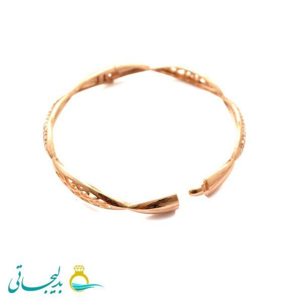 النگو طلایی زنانه- کد 6374