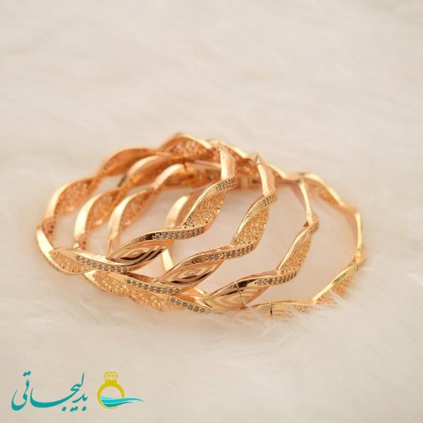 النگو طلایی زنانه- کد 6375