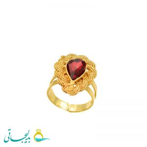 انگشتر طلایی - کد 7260