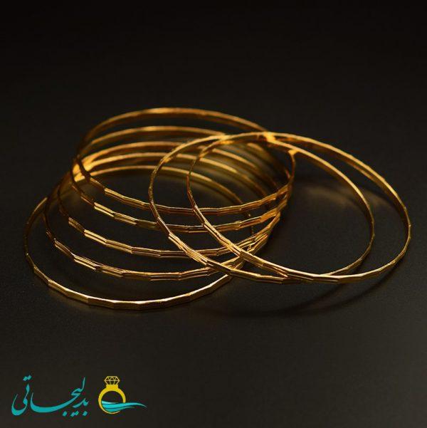 النگو طلایی زنانه- کد 6111