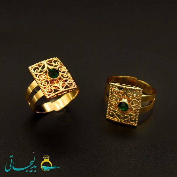 انگشتر طلایی - کد 7258