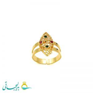 انگشتر طلایی - کد 7256