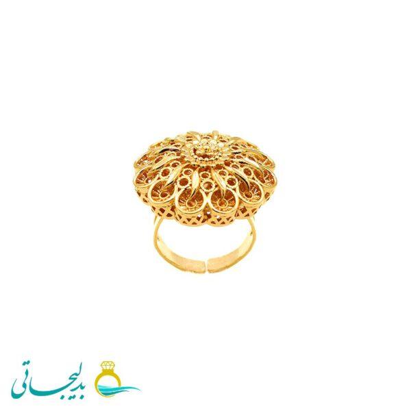 انگشتر طلایی - کد 7274