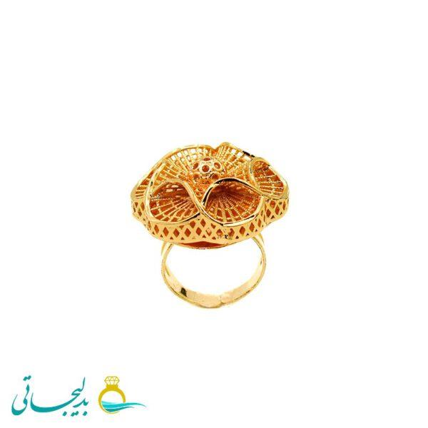 انگشتر طلایی - کد 7275
