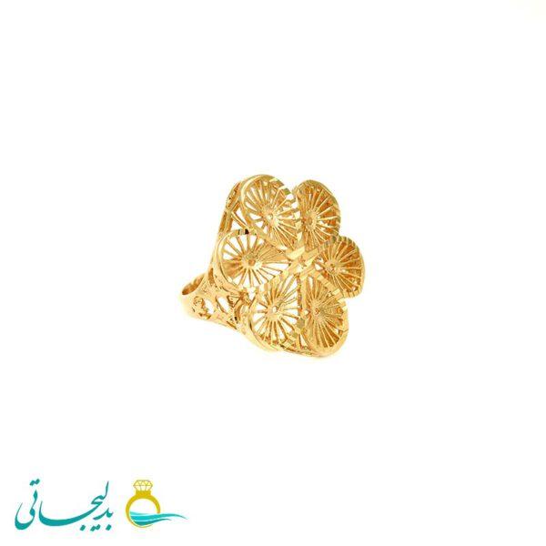 انگشتر طلایی - کد 7270