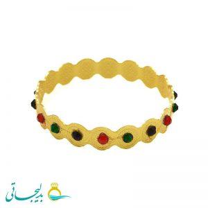 دستبند طلایی- کد 5901