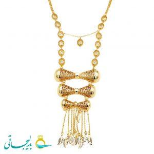گردنبند طلایی - کد 8326