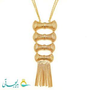 گردنبند طلایی - کد 8325