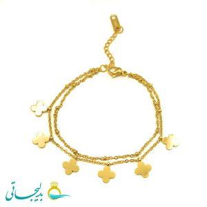 دستبند طلایی - کد 5138