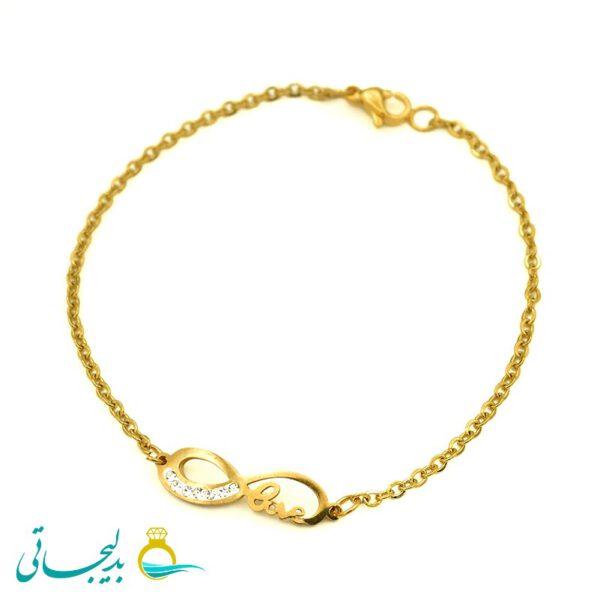 دستبند طلایی- کد 5900