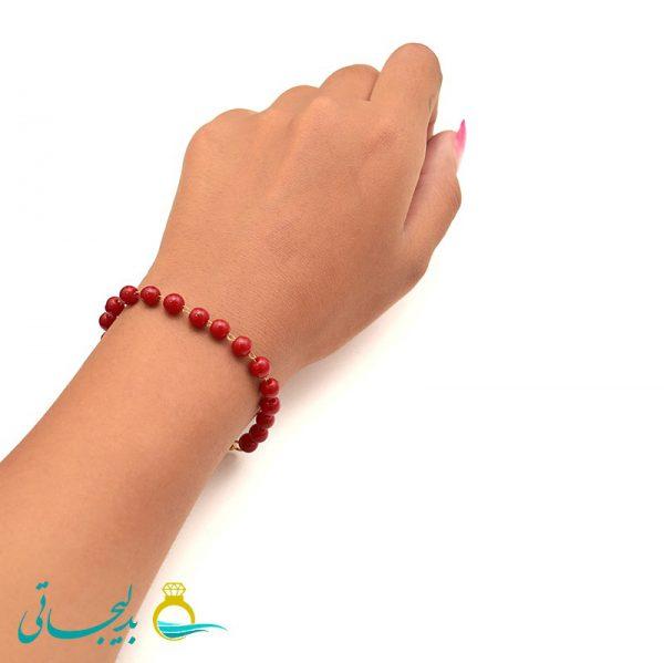 دستبند مهره ای - کد 5741