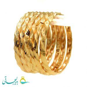 النگو طلایی زنانه- کد 6113