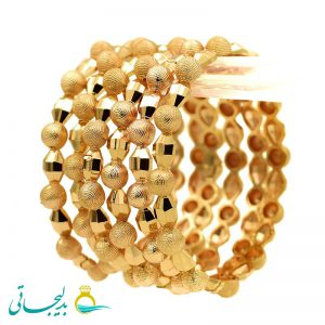 النگو طلایی زنانه- کد 6112