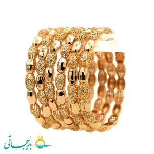 النگو طلایی زنانه- کد 6117