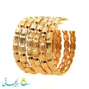 النگو طلایی زنانه- کد 6118