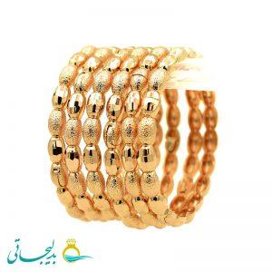 النگو طلایی زنانه- کد 6116