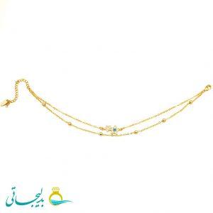 پابند طلایی ستاره - کد 7461