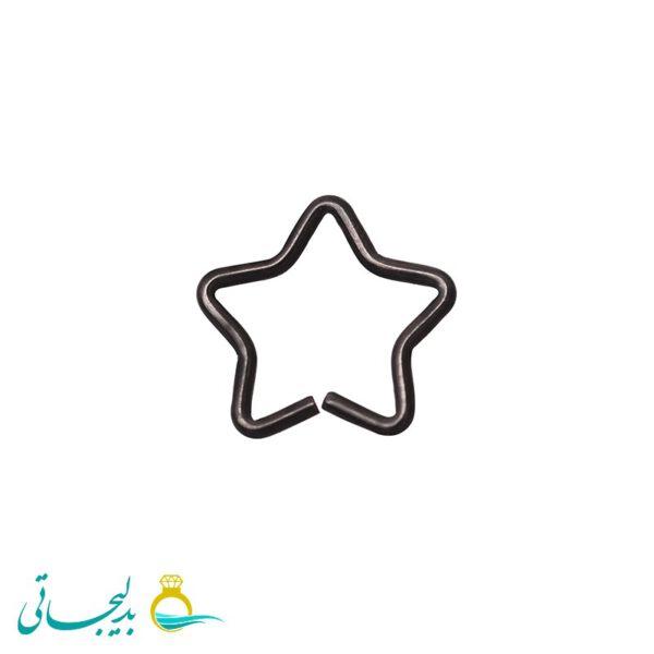 پیرسینگ مشکی - کد 9846