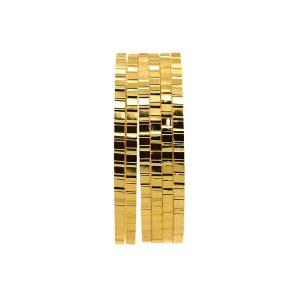 النگو طلایی ظریف - کد 6420