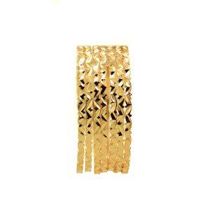 النگو طلایی ظریف - کد 6419