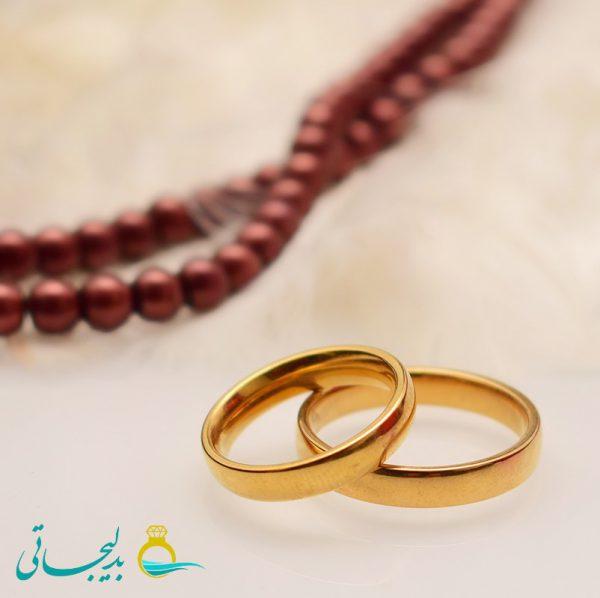 حلقه طلایی - کد 3461