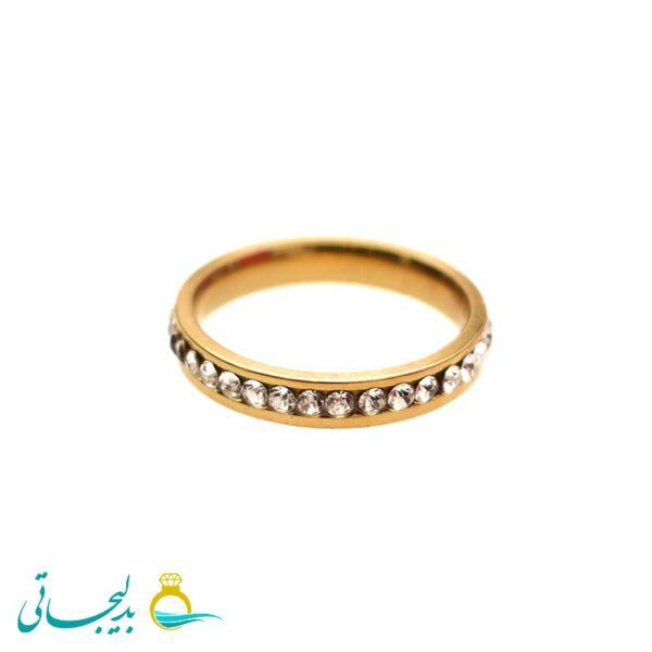 حلقه طلایی - کد 3460