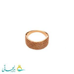انگشتر طلایی ساده - کد 3468