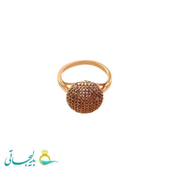 انگشتر طلایی ساده - کد 3466