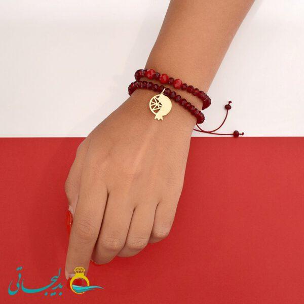 دستبند طرح یلدا - 0770