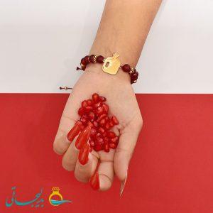 دستبند طرح یلدا - 0772