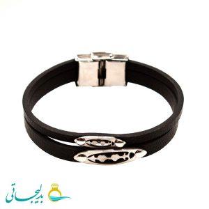 دستبند اسپرت چرم - 8117