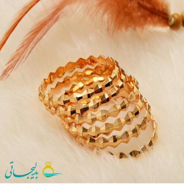 النگو طلایی زنانه- کد AT6122