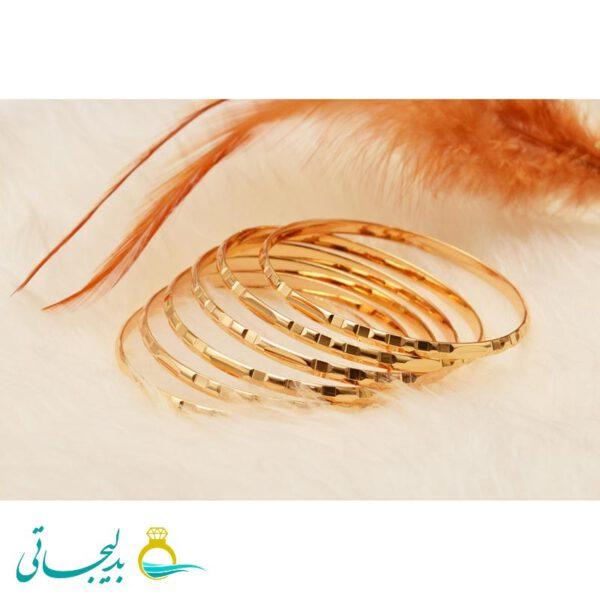 النگو طلایی زنانه- کد AT6124