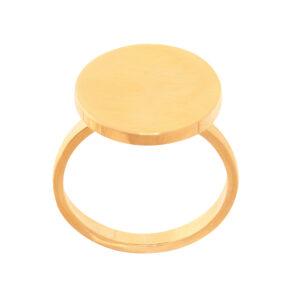 انگشتر استیل رنگ ثابت ژوپینگ
