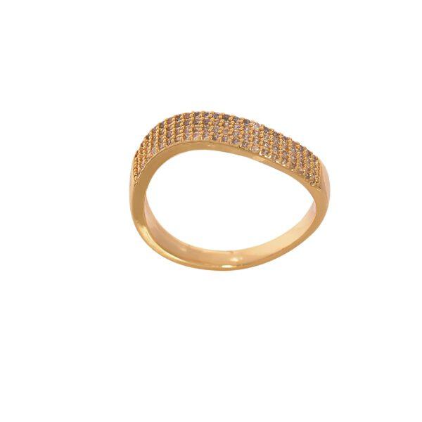 انگشتر زنانه طرح طلا